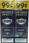 Swisher Sweets Grape Cigarillos 60 Cigars